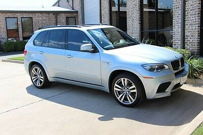 2013 BMW X5  ilverstone Full Merino Leather Rear Climate Cold Weather Heads Up Adaptive LEDs