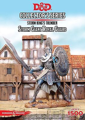 D&D Collector's Series Storm King's Thunder  Storm Giant Royal Guard  GF9