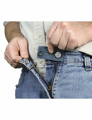 3 Jean Pants Waist Extender Waist Expander Button for both Men & Women