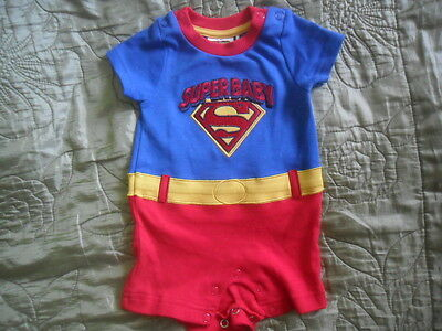 Baby Boys Summer Outfits/ Romper SuperBaby Newborn Excellent