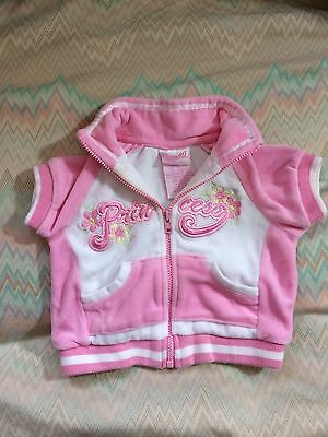 Nannette Infant Girls Velour Short Sleeve Jacket Size 3-6 Months
