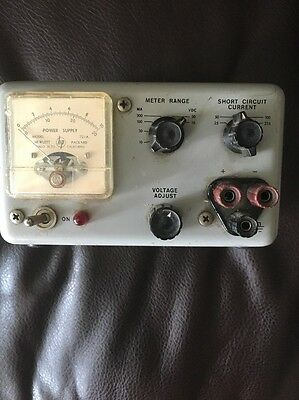 Vintage Hp Hewlett Packard 721 A 0-30V Dc Power Supply