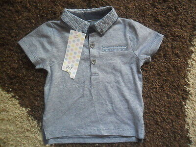 New with tags Boys  T-shirt Polo  F&F 3-6 Months