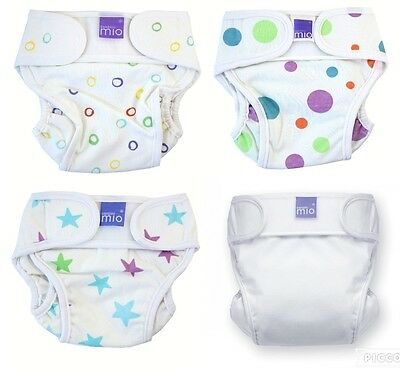Nappy Cover Miosoft Bambino Medium Small Newborn 5kg-9kg/11-21lbs Reusable Spots