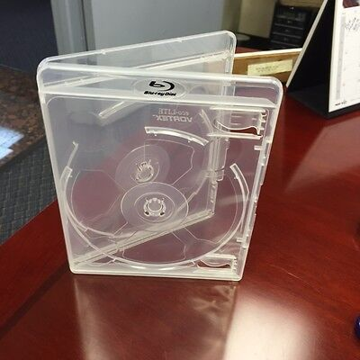 Blu Ray case Double clear 11mm 25 Units New