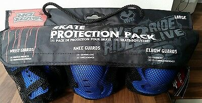 Brand new No Fear elbow,wrist & knee protection guards