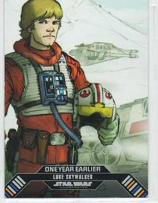 Star Wars ESB Illustrated - Lot Of 13 Different One Year Earlier Chase Cards NM
