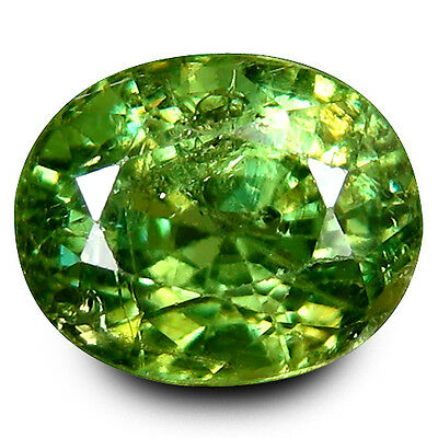 1.75 Cts Natural Demantoid - Rich & Rare Supreme Fine Quality Russian Gemstone