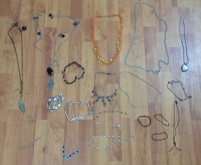 Big mixed Job lot necklaces earrings bracelets  costume jewellery ACCESSORIZE