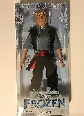 DISNEY FROZEN Kristoff Classic Doll Official Disney Store Item BRAND NEW