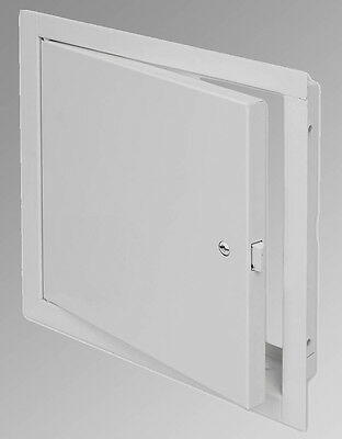 Acudor FB-5060 12 x 12 WCPC Non-Insulated Metal Access Panel Door - White - Key