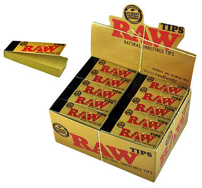 Raw Tips Direct from Manufacturer (Full Box - 50 Tips)