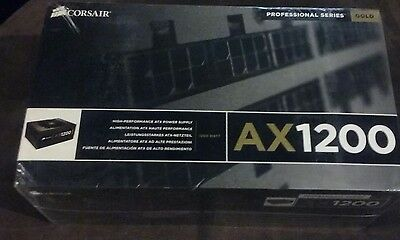 Corsair AX1200 1200w 80 plus gold modular power supply CMPSU 1200AX