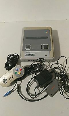 SUPER NINTENDO CONSOLE faulty cant get picture