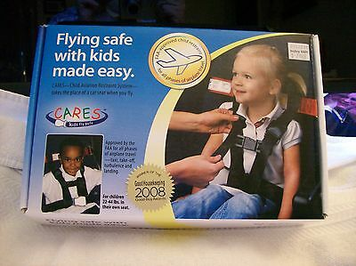 NEW OPEN BOX! Cares Flying Safe With Kids 22-44lbs.
