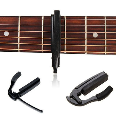 Quick Release Trigger Capo Clamp Metal for Acoustic Electric Guitar