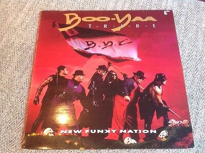 Boo-Yaa Tribe - New Funky Nation - UK Vinyl LP - Hip Hop