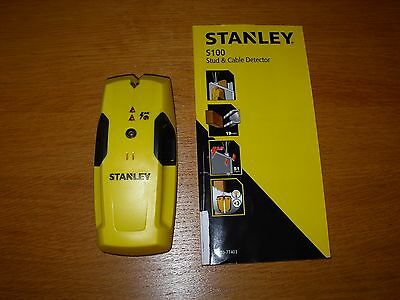 Stanley S100 Stud and cable detector