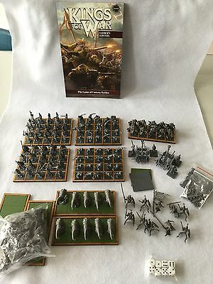 Kings Of War Undead Army, Rule Book, Movement Trays, 28mm Fantasy, Warhammer