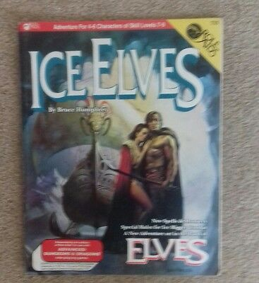Ice elves role aid  softcover RPG roleplaying fantasy