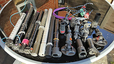 windsurfing Mast extensions and feet Job lot