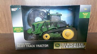 Britains Ertl John deere 9630T Waterloo Collector Edition- With DVD
