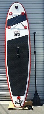 Stand Up Paddleboard - WHAT SUP - SUP Into Summer with this 10 foot INFLATABLE