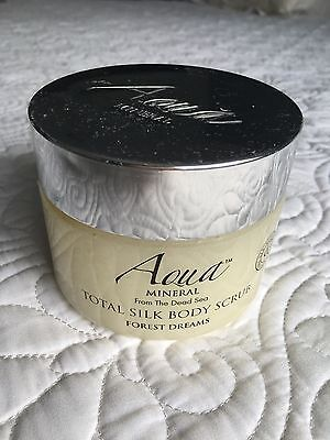 Aqua Mineral From the Dead Sea Total Silk Body Scrub Forest Dreams 16.76 oz