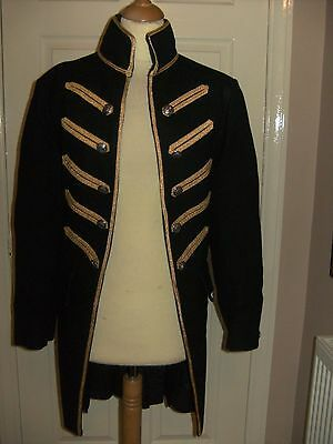 Mens Theatrical Georgian Military Coat Period Costume By Samuel Hogarth & Son