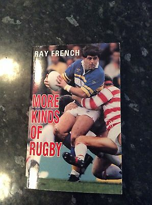 Hand Signed Ray French Book And Hand Signed Letter More Kinds Of Rugby