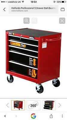 halfords professional tool cabinet