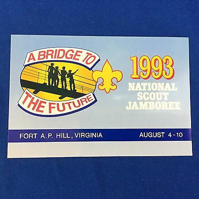 Boy Scout Post Card 1993 National Scout Jamboree