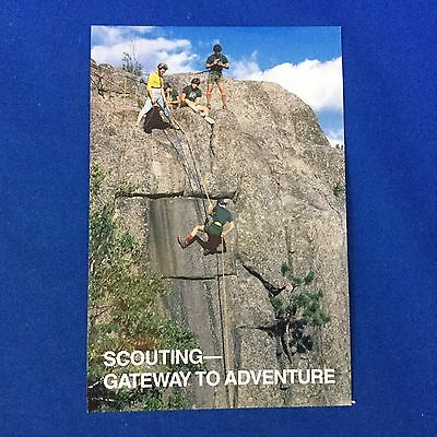 Boy Scout Post Card Scouting Gateway To Adventure