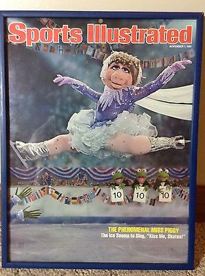 The Muppets - Miss Piggy Sports Illustrated November 1, 1981 - Figure Skating
