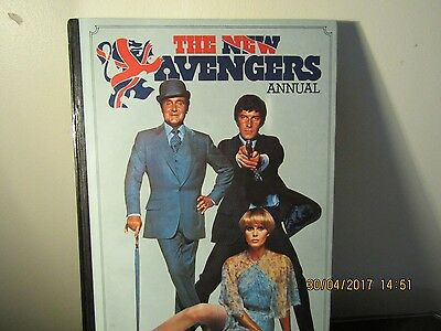 The New Avengers ANNUAL 1977