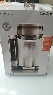 Baby Brezza Formula Pro One Step Food Maker Factory Sealed ~FREE SHIPPING