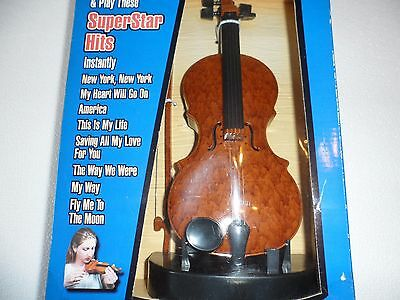 "ELECTRONIC ""MAGIC FIDDLE"" MUSICAL INSTRUMENT TOY - ORIGINAL BOX-New"