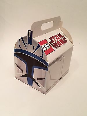 LEGO Star Wars: Captain Rex carry case storage for sets, minifigures, and parts