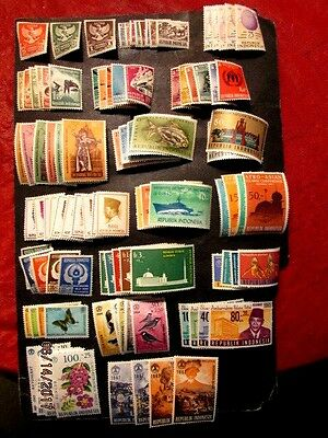 Indonesia MH/NH f-vf cpl sets, incl 359-61, '15 cat 56.75