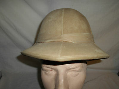 WW2 Wolseley Tropical Pith Helmet 1942