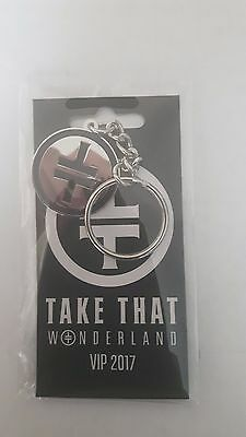 Take that Wonderland 2017 tour keyring