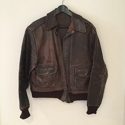 Original WWII A2 Flight Jacket