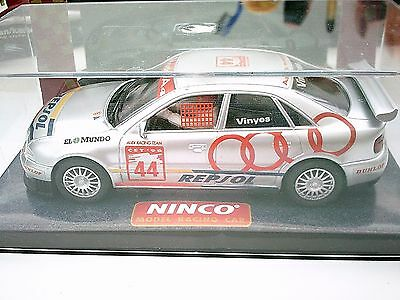 Scalextric Ninco # 50137Audi A4 Boxed Near Mint Slot Car Tested & Working 1/32