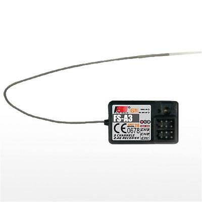 Original Flysky FS-A3 2.4GHz 3CH 20 dbm Mode 2 Receiver for Radio TransmitterGGa