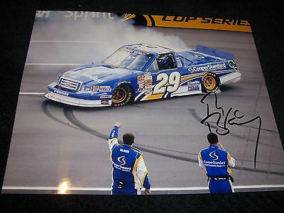 RYAN BLANEY truck win 8 X 10  PHOTO signed Autograph WITH COA