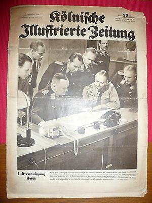 WW2 German Newspapers 1944