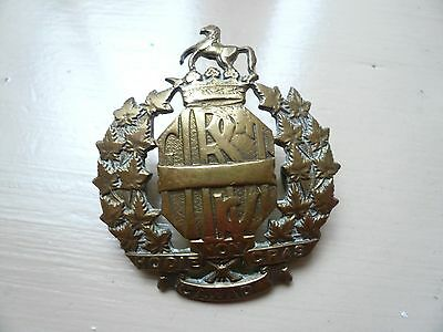 WW2 1st Canadian Hussars Badge