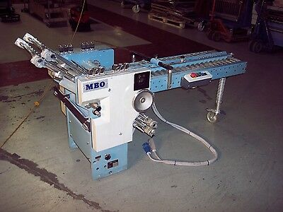 Used MBO B23 16 Page Folding Unit with 18 Pin control plug