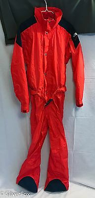 THE NORTH FACE EXTREME GEAR ONE PIECE Gore-Tex SKI SNOWMOBILE Suit M Hood VTG