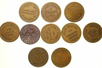 Parking Tokens ~ Eastern States Collection
